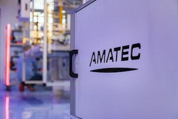 Amatec logo i installasjon
