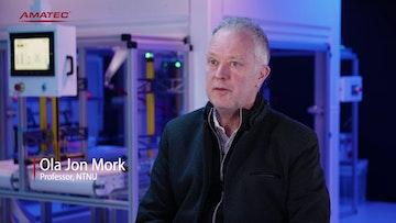 Ola Jon Mork forklarer MANULAB konseptet
