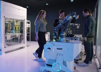 Amatec leverer Industri 4.0 lab til NTNU Ålesund