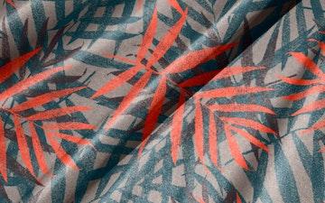 Simulering av print på tekstil