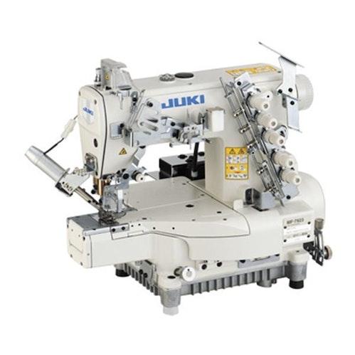 Juki MF 7923 interlock maskin 3 nåler for søm av sportstøy t skjorter strikkevarer