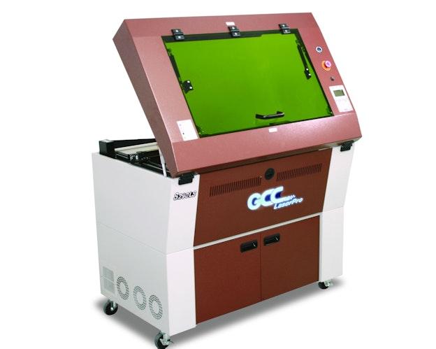 GCC S290 LS lasermaskin med åpen luke
