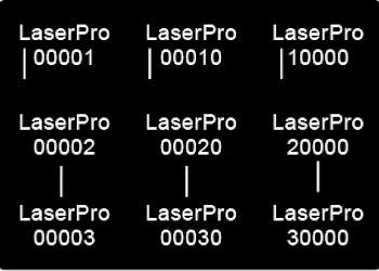 Automatisk serienummer-merking