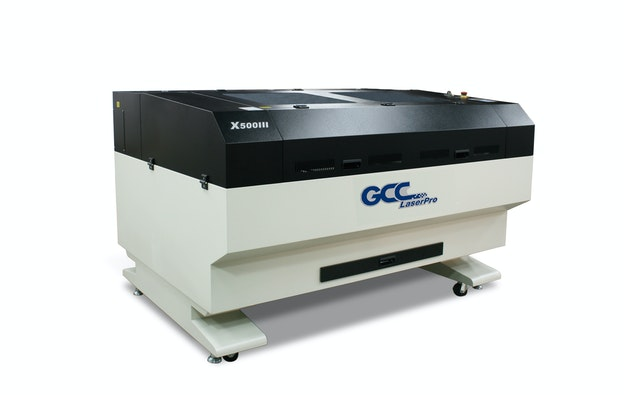 GCC maskin X500 III laser venstre