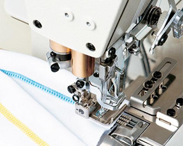 MF7923 interlock maskin me 2 eller 3 nåler for søm av klær