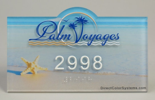 Direct Color Systems Sign ADA T3 D Palm Voyages Beach e1434540863712