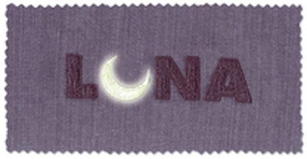 Madeira Lunatekst med måne