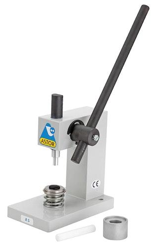 Astor A5 knappetrekkingsmaskin med knappeverktøy