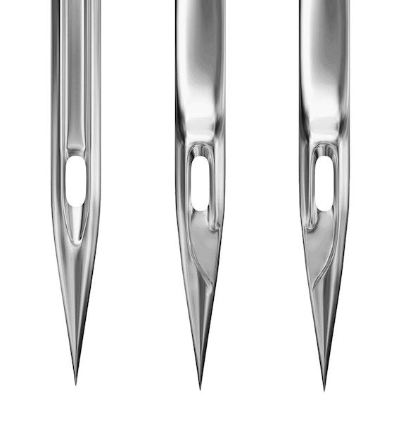 Hvordan velge riktig nål?