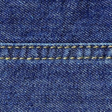Sømdetalj Jeans SUK