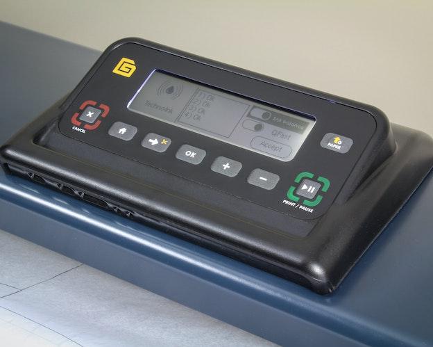 MP 1800 Plotter brukervennlig betjeningspanel