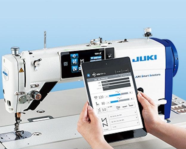 Juki DDL9000 C SMS industrisymaskin digital