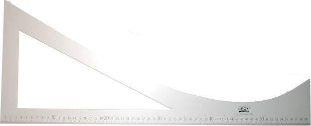 Linjal skredder aluminium 76 262
