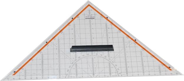 Linjal trekant 76 280