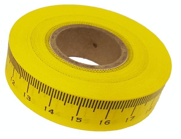 Måletape gul 76 255
