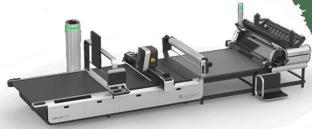 Atria Digital Cutter med leggebord og leggemaskin