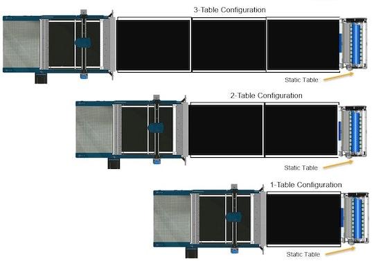 C Table configuration