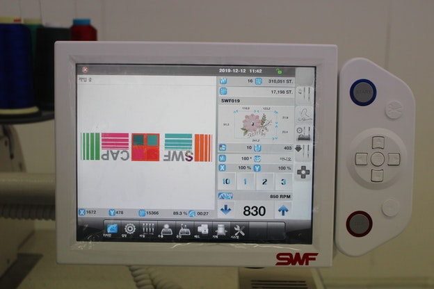 SWF ES 1 hoder operatørpanel