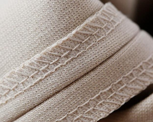 Teksturert tråd som dekker godt